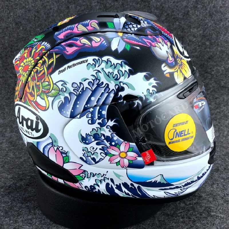 Detail Feedback Questions About Original Arai Rx7x Motorcycle Helmet