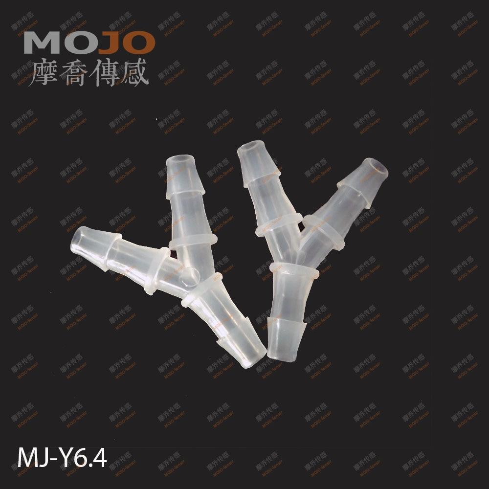 2019 Free shipping 100pcs Lots MJ Y6 4 1 4 PP Three way connectors 6 4mm