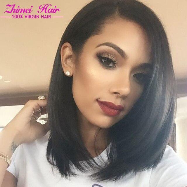Star Style Malaysian Virgin Hair Straight 4 Bundle Deals Bob Hair