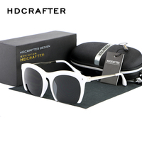New Fashion Vintage Half Frame New White Framed Glasses Classic Brand Metal Woman Men Sun Glasses