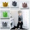 Instagram New Crown Хлопка Трикотажные Детские Шапочки Дети Шляпы Мальчик в Девочке Мода Caps Зима Теплая Головные Уборы GPD8071