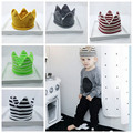 Instagram New Crown Cotton Knitted Infant Baby Beanies Kids Hats Boy Girl Fashion Caps Winter Warm Headwear GPD8071