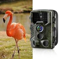Trail Camera Hunting Camera Outdoor Wildlife Scouting Camera 42 Infared LED PIR Sensor Infrared Night Vision 12MP 1080P HC800A