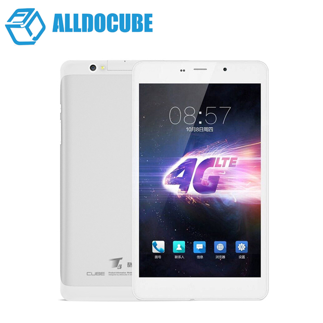 New Arrival 8'' IPS Cube T8 Ultimate/plus Dual 4G Phone Call Tablet PC 1920x1200 Android 5.1 Octa Core Play Store GPS 5MP