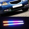 OKY 2 ШТ. 17 СМ LED Автомобилей COB DRL Дневного Света DC12V Внешнего Света Автомобилей Водонепроницаемый 4 цветов Красивая автомобиль для укладки