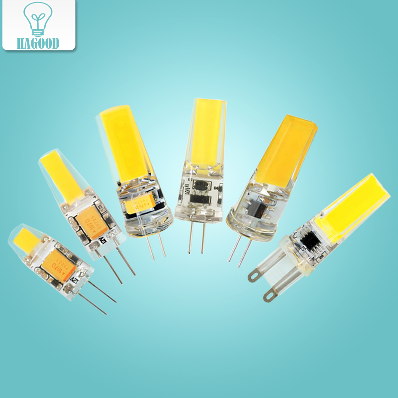 <font><b>G4</b></font> G9 <font><b>LED</b></font> Bulb Light AC/DC12V 220V COB SMD 3W 6W <font><b>9W</b></font> Dimmable Chandelier Lights Replace Halogen Spotlight Chandelier Lamps image