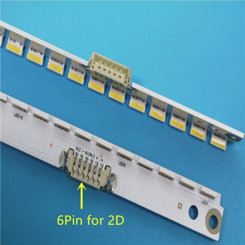 New 10 PCS/set 56LED 500mm LED Backlight Strip For Samsung UA40ES6100J UE40ES5500 2012SVS40 7032NNB RIGHT56 LEFT56 2D Panel