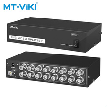 MT-VIKI The 16-port BNC splitter box 1 is suitable for video sharing of monitoring equipment in the 16-in and 16-out  MT-1016BC mt power se 16