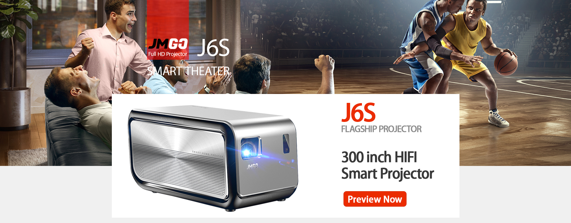 JMGO Offers 15%-25% Discount on Its Portable Android Projectors (24th April – 1st May)