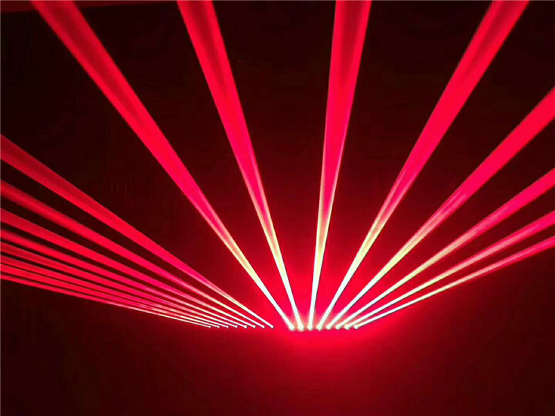 5600MW Moving Head RED Laser Array R638NM-700mW Rough SpotX8PCS Stage Party Disco KTV Bar Club Theatre Studio Iluminacion Light