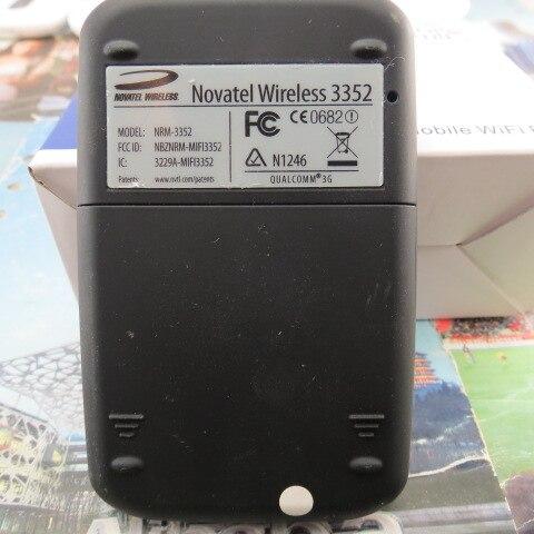 Novatel უსადენო MiFi 3352 HSPA მობილური - ქსელის აპარატურა - ფოტო 5