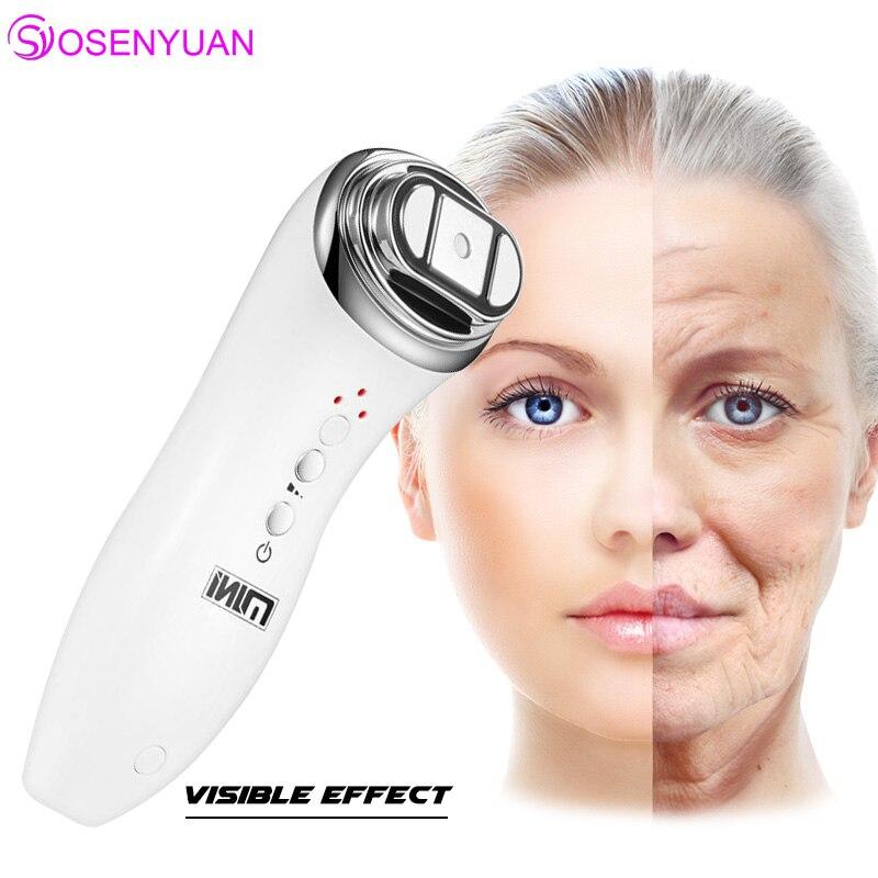 Mini Hifu Focused Ultrasonic Facial Beauty Instrument Facial Rejuvenation Anti Aging Wrinkle Beauty Machine with Free