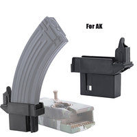 Tactical Military Equipment M4 1000rd BB Speed Loader/Converting Adaptor for AK G36 MP5 Magazine Quick Loader Hunting Airsoft