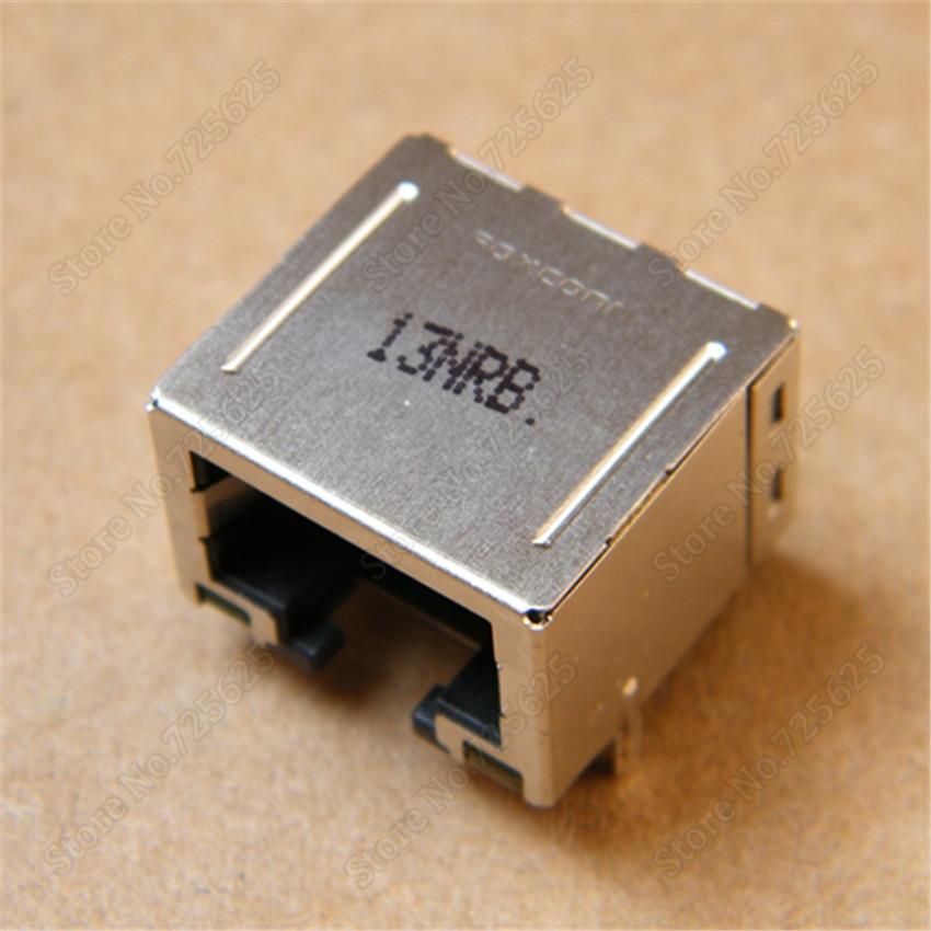 RJ45 Module Network PCB Jack for DELL Inspiron 1427 1425 1428 laptop LAN Network Jack Connector dell inspiron 3558