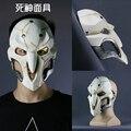 Linglong Alta Calidad Tamaño Natural 1:1 Usable Reaper Reaper Máscara Cosplay Máscara