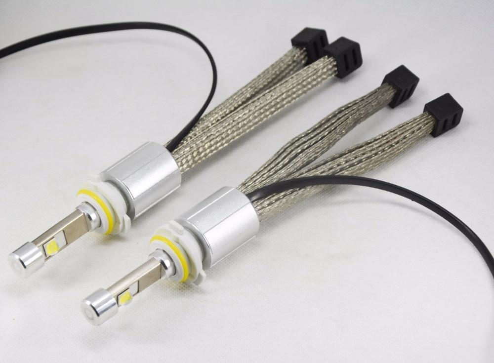 1 հավաքածու 9012 HIR2 110W 13200LM P70 LED - Ավտոմեքենայի լույսեր - Լուսանկար 4