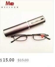039c7e6f5de3 MEESHOW Brand eyeglasses Men women reading glasses IVORY color +4.0 fashion  reading glasses