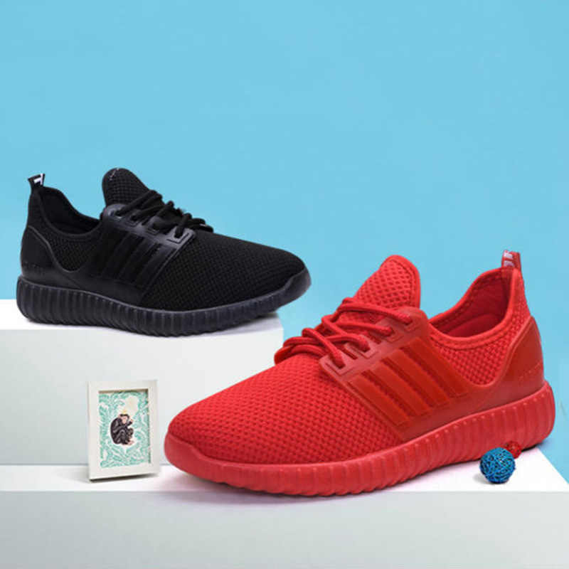 Nieuwe Collectie Zomer Vrouwen Mesh Schoenen Lace-up Ademende Loafers Lopen Fitness Meisje Casual Sneakers