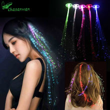 1Pcs LED Light-Emitting Fiber Optic Wire Wedding Decoration Birthday Party Decor Mariage Wedding Atmosphere Favors and Gifts,Q(China)