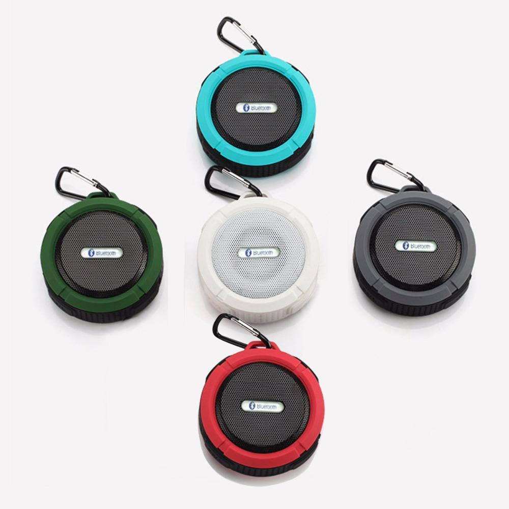 Image 2 - C6 屋外ワイヤレス Bluetooth 4.1 ステレオポータブルスピーカー内蔵マイク衝撃抵抗 IPX4 防水 Louderspeaker    グループ上の 家電製品 からの ポータブルスピーカー の中