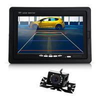 High Qulaity 7 Inch TFT LCD Car Monitor IR Rear View Reverse Backup 9 LED Night