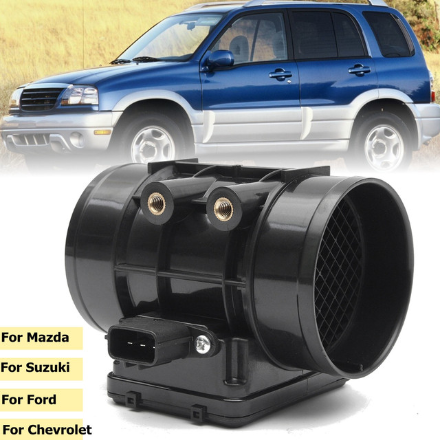 2019 New Arival Hot Sale Mass Air Flow Sensor Meter MAF for Protege Miata Tracker Vitara E5T52071 FP39 Dropshipping