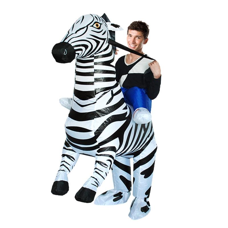 Zebra Inflatable Costume (3)