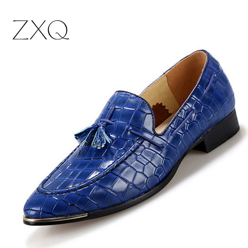 Tassel Crocodile Shoes Moccasins Men Shoes Casual Men Loafers Embossed Leather Shoes Men Flats Slip On Red Black Yellow dxkzmcm new men flats cow genuine leather slip on casual shoes men loafers moccasins sapatos men oxfords