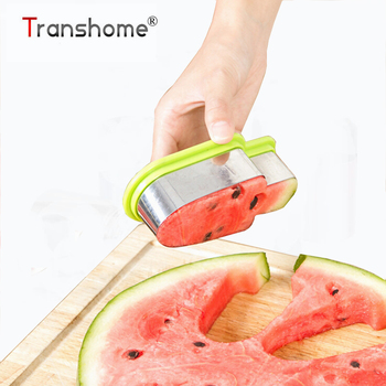 2016 New Creative Watermelon Slicer Stainless Steel Popsicle Ice Cream Model Melon Cutter Kids DIY Kitchen Tools форма для нарезки арбуза