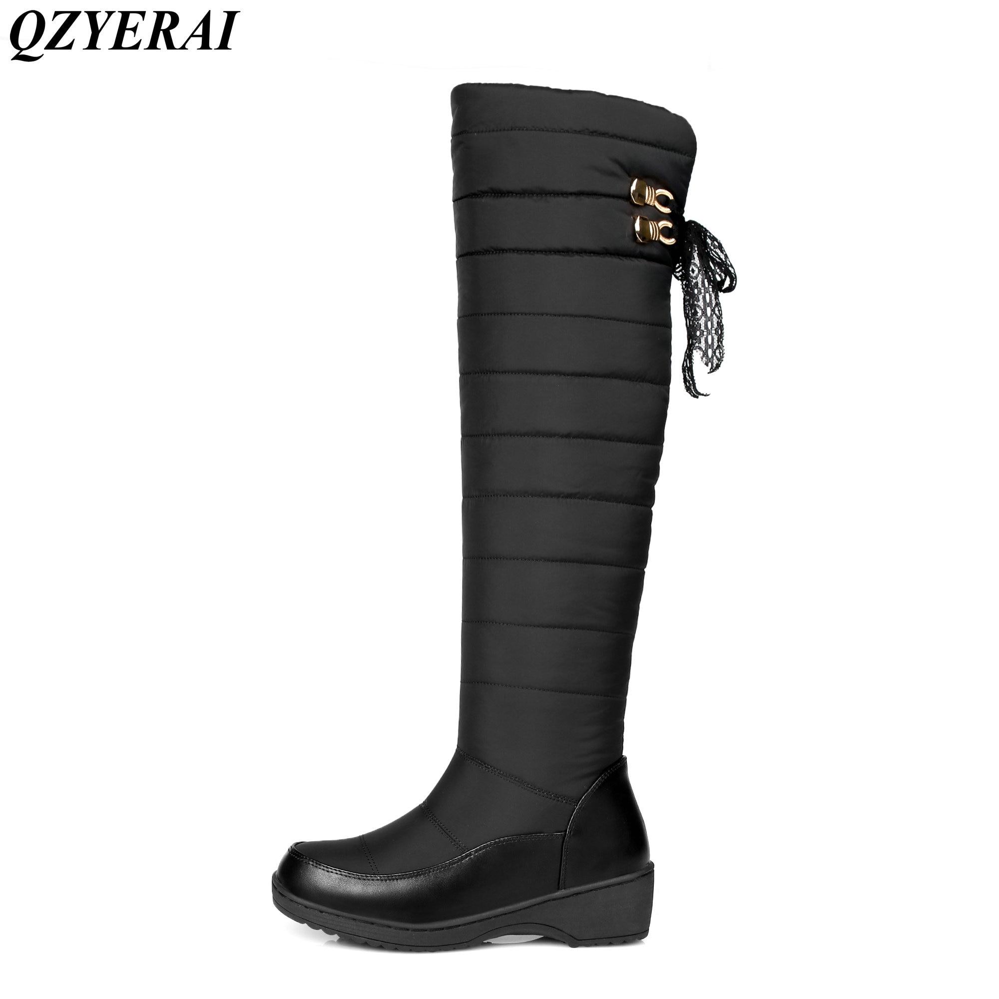 QZYERAI Hot selling winter minus 40 degrees cotton warm snow boots font b women b font
