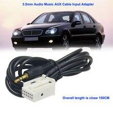 Абсолютно 3,5 мм аудио Музыка AUX кабель вход Адаптер для Mercedes Benz W203 W209 прочный высокое качество l0408