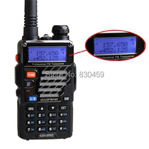 BAOFENG UV-5RE Dual Band Amatørradio med gratis Øretelefon
