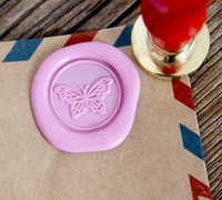 Butterfly Wax Seal Stamp Sealing Wax Seal Brass Wax Stamp