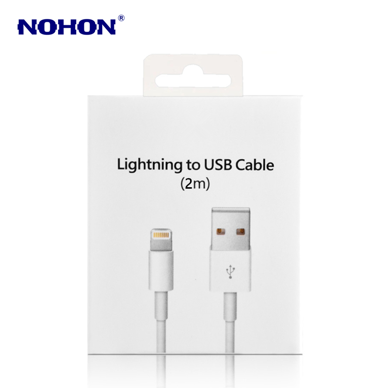 Image 5 - 1m 2m Original USB Data Sync Charging Cable for iPhone 7 8 Plus 6 6S PLUS X XS Max XR 5 5S 5C SE Fast Charger Mobile Phone Cable-in Mobile Phone Cables from Cellphones & Telecommunications