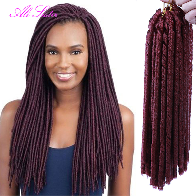 Crochet Faux Locs : color soft faux locs braid hair crochet faux locs dreadlock crochet ...