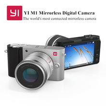 YI M1 Mirrorless Digital Camera With 12-40mm F3.5-5.6 Lens / 42.5mm F1.8 Lens international Version