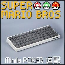 Для minila мини keyboarded персонализированные механическая клавиатура gh60 покер Марио вишня профиль краситель сублимированный