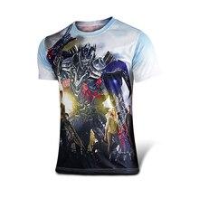 Marvel Comics Super Heroes Spiderman Superman Captain America Batman Iron Man Hulk Transformers Optimus Prime T-shirt Kostüm