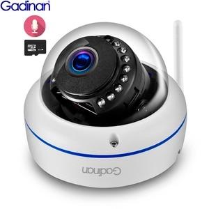 Image 1 - Gadinan WiFi Camera Wireless IP Camera 2MP 1080P 1MP Dome Night Vision Vandalproof Audio Record Max 128G TF Card Slot Yoosee