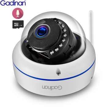 Gadinan WiFi Camera Wireless IP Camera 2MP 1080P 1MP Dome Night Vision Vandalproof Audio Record Max 128G TF Card Slot Yoosee - DISCOUNT ITEM  51% OFF All Category