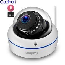 Беспроводная ip камера Gadinan, 2 МП, 1080P, 1 МП, купольная камера ночного видения, антивандальная аудиозапись, макс. 128 ГБ, разъем для TF карты Yoosee