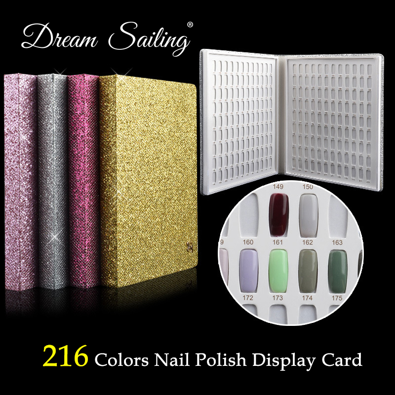 False Nail Color Book Color Display Nail Art Gel Polish Color Card Nail Color Chart Palette Varnish Practice Board Manicure Tool стоимость