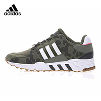 Adidas Clover EQT SUPPORT RF Men's Running Shoes, Outdoor Sneakers Shoes, Army Green, Abrasion Lightweight Non slip BB 1323