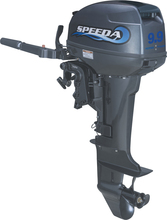 Wholesale and Retails High Quality Water Cooled 2-stroke 9.9HP 2 cylinder marine engine outboard motor price for boats