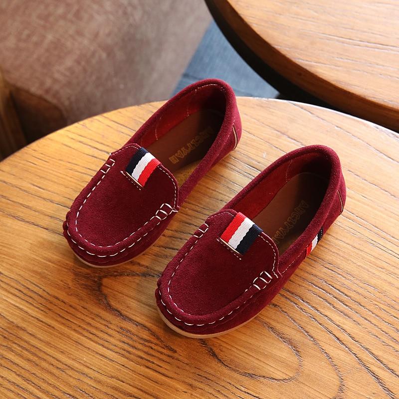 2018 New Autumn Boys Children Shoes Kids Boys PU Leather Shoes Kids - Zapatos de niños - foto 5