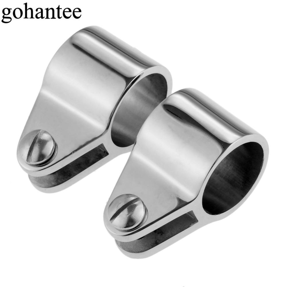 Atv,rv,boat & Other Vehicle 1 Piece 1 Inch 25mm Bimini Top Eye End Cap Umbrella Cap Stainless Steel Aluminum Alloy Hardware For Marine Boat Yacht Soft And Antislippery