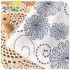 0 5M White Blue Cotton Shirt Dress Printing Bamboo Summer Clothing Fabric Curtain Sub Hanfu Clothing