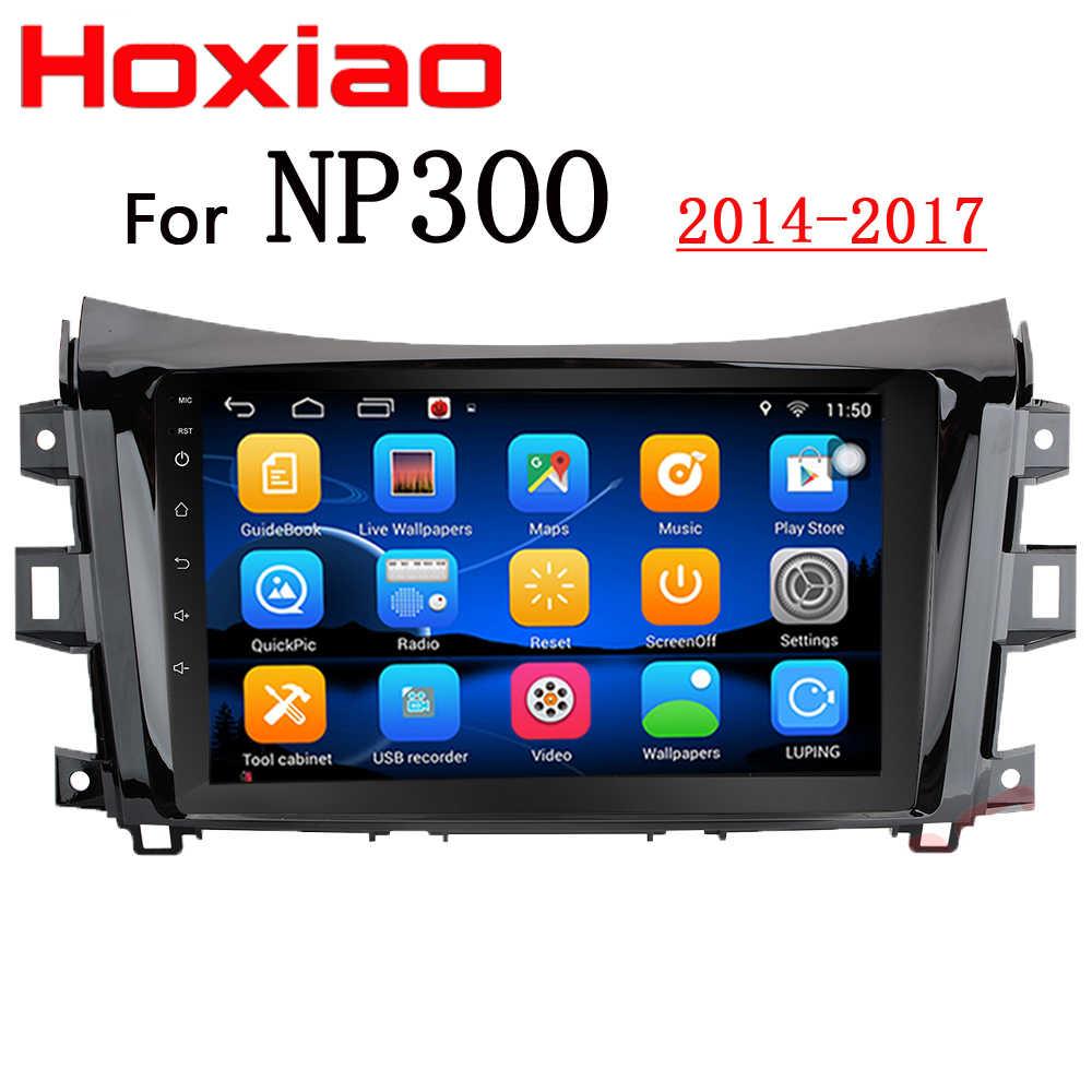 Для Nissan NAVARA NP300 2014 2015 2016 2017 9 дюймов 1024*600 экран Android стерео радио GPS автомобильный dvd-плеер с двумя цифровыми входами BT