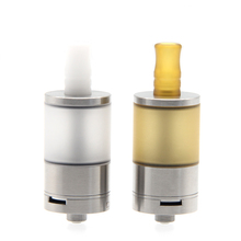 E-XY Dvarw Style MTL RTA Atomizer 316 SS 5ml Capacity with 1.2mm AFC Insert Airflow Dual Post Build Deck RTA Vape Tank