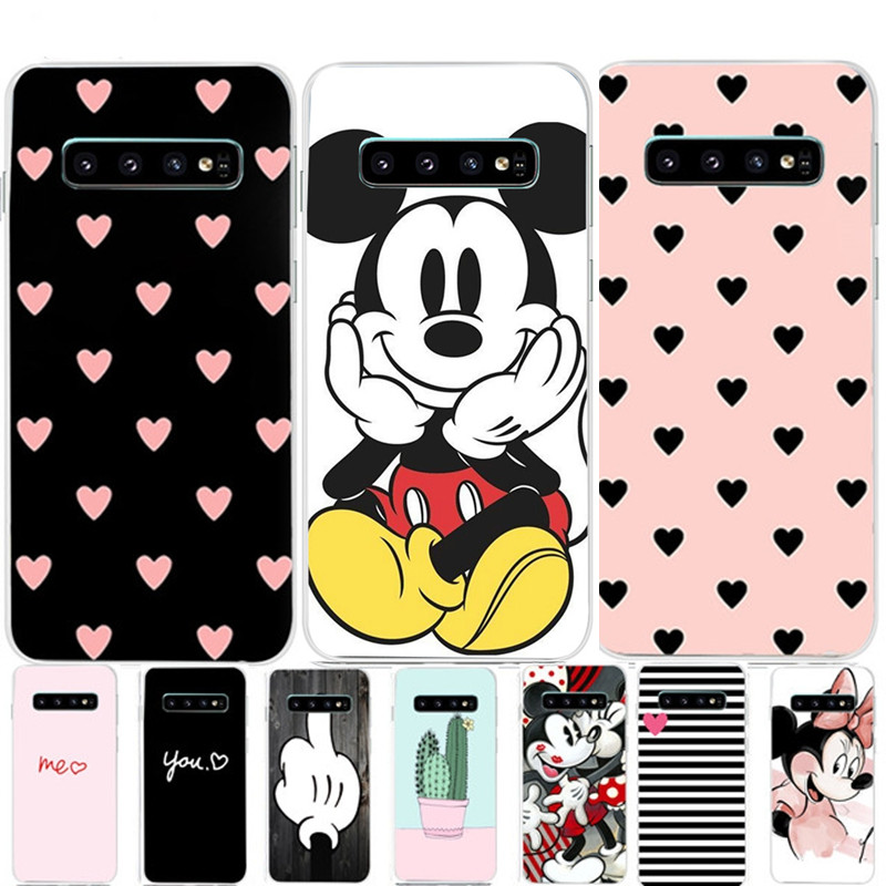 Buy For Samsung Galaxy S10 Case S10+ Case Silicone TPU Cover Phone S10 E Case On For Samsung S10 Plus G975F S 10 SM-G973F Case for only 1.27 USD